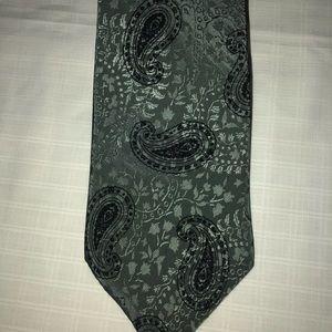 Henri Christian Green Design Tie
